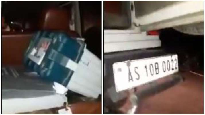Assam: Priyanka Vadra claims EVMs found in BJP candidate's car, shares video