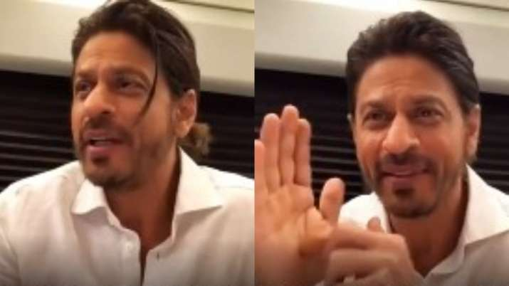 Shah Rukh Khan offers to help expectant mothers with baby names during chat with acid attack survivo