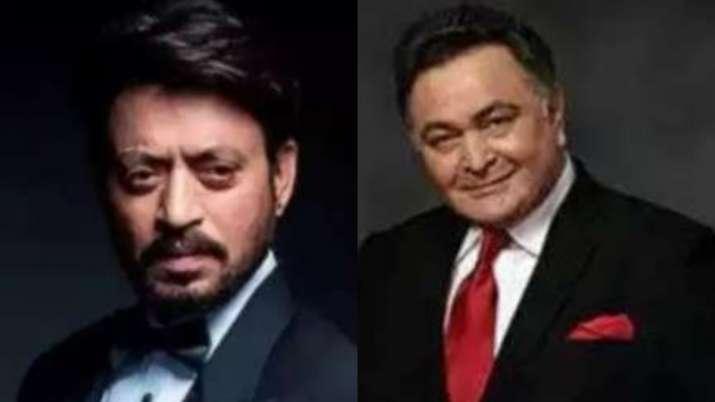 Rishi Kapoor, Irrfan Khan, Chadwick Boseman