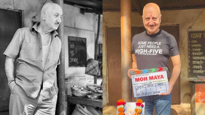 Veteran Bollywood actor, Anupam Kher on Sunday treated his fans with exciting news as he shared that