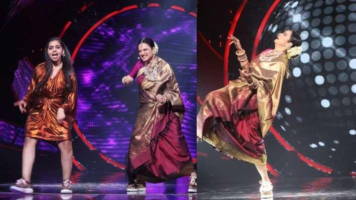 Indian Idol 12: Rekha dances to Humma Humma wearing sneakers, gifts Neha Kakkar Kanjivaram saree