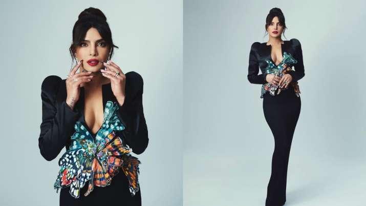 Priyanka Chopra turns up heat in black at BAFTA 2021, see what Nick has to say