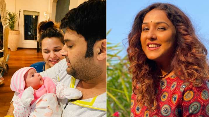 Kapil Sharma discloses son's name on Neeti Mohan's request, says 'we have named him Trishaan'