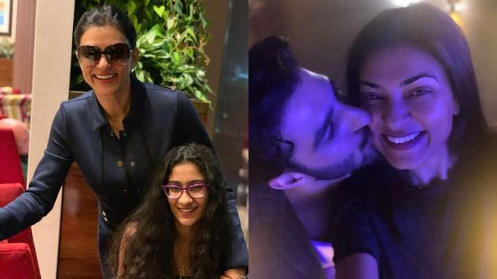 Sushmita Sen shares her 'reel' & 'real' glimpses; beau Rohman Shawl, daughter Renee shower love