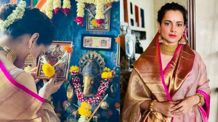 Kangana Ranaut, Navratri, Gudi Padwa
