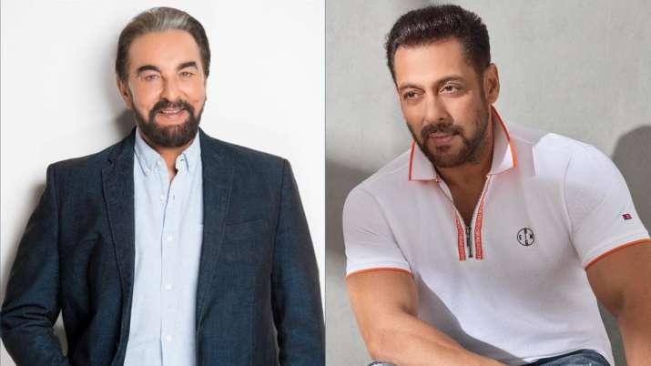 Salman Khan unveils cover of Kabir Bedi's memoir, 'Stories I Must Tell'