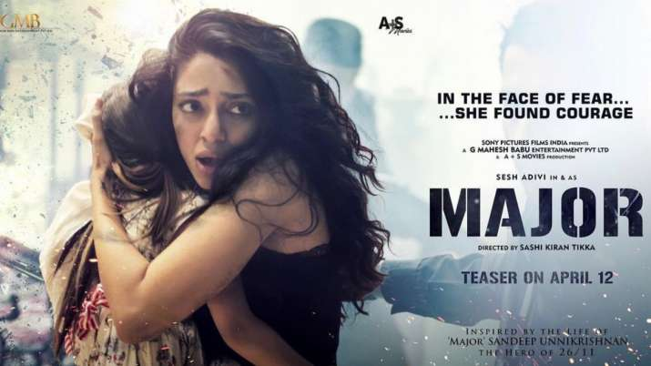 Sobhita Dhulipala unveils her look in 'Major'