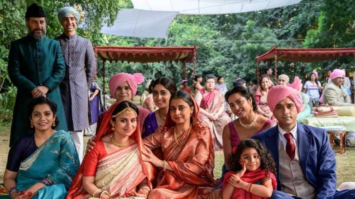 Rasika Dugal shares pic from 'suitable times' on 'A Suitable Boy' set