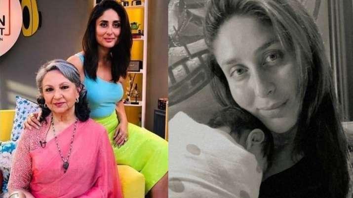 Kareena Kapoor reveals Sharmila Tagore hasn't met 'the little one' yet