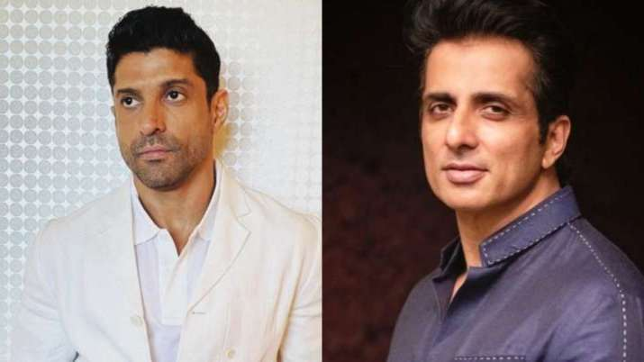 Sonu Sood, Farhan Akhtar, Covishield