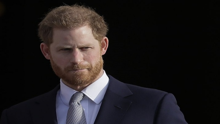 Harry arrives in UK for grandfather Prince Philip's