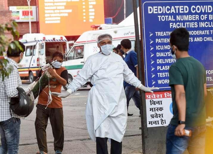 LNJP Hospital oxygen shortage
