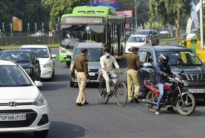 Amid spike in COVID-19 cases, over 5,500 fined for not wearing face mask in Noida, Greater Noida