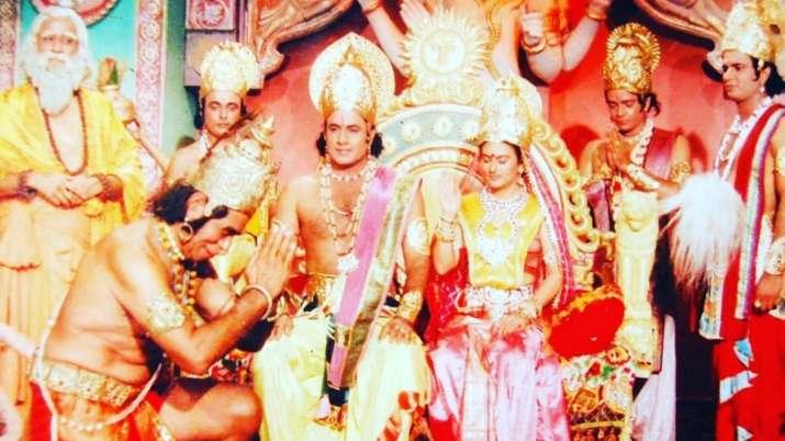 Still from Ramanand Sagar's Ramayan
