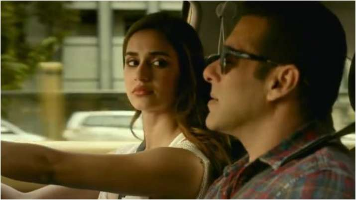 Screengrab from Radhe trailer