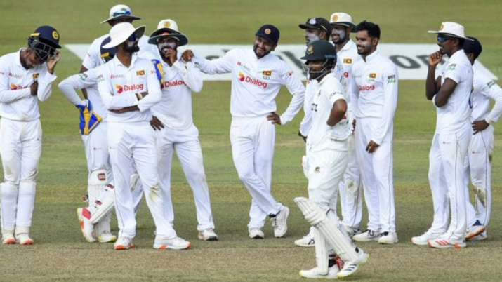 Bangladesh scored 541 for 7 declared in their first innings