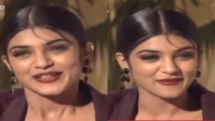 Video of 18-year-old Sushmita Sen reciting poem written during Miss India days goes viral. Fans are