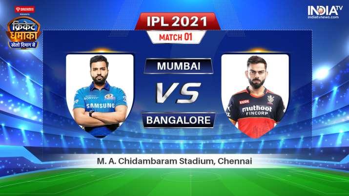 MI vs RCB Live IPL 2021 Match: Watch Mumbai Indians vs Royal Challengers Bangalore Live Online on Ho