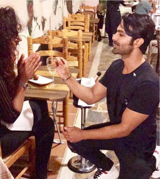 India Tv - Mahekk Chahal with ex-fiance Ashmit Patel