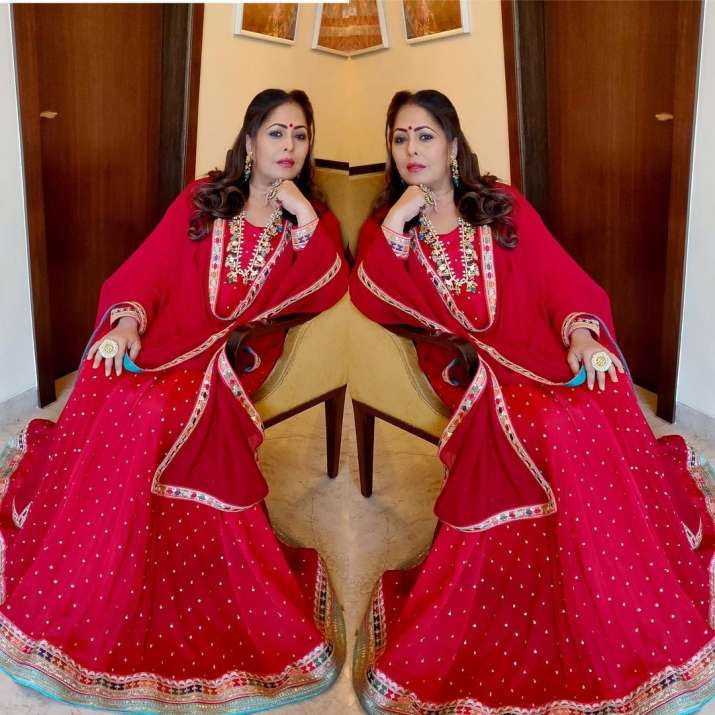 India Tv - Super Dancer Chapter 4 judge Geeta Kapur's viral sindoor pics