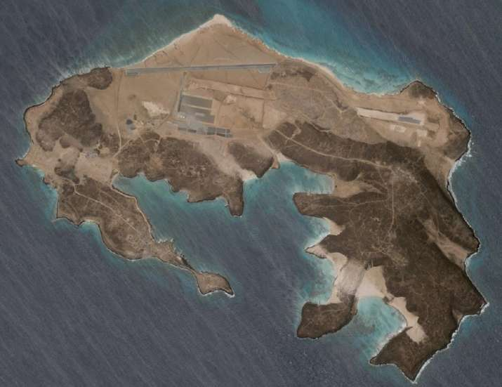 Mysterious air base being built on volcanic island off Yemen