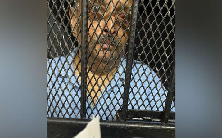 Mehul Choksi's pictures from behind the bars in Dominica