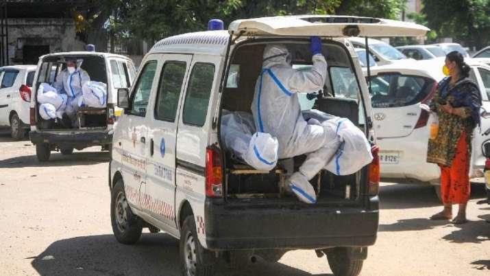 Gujarat government, 90 ambulances, Deputy Chief Minister, Nitin Patel, coronavirus pandemic, covid u