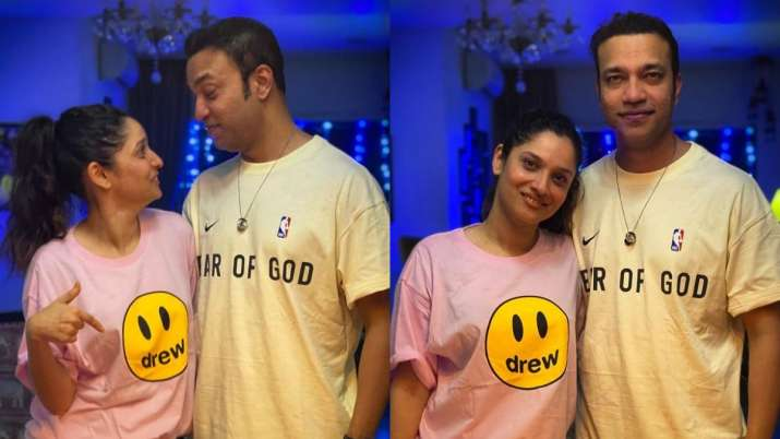 Ankita Lokhande, boyfriend Vicky Jain's mushy Instagram pics reveal how 'worlds change' when their e