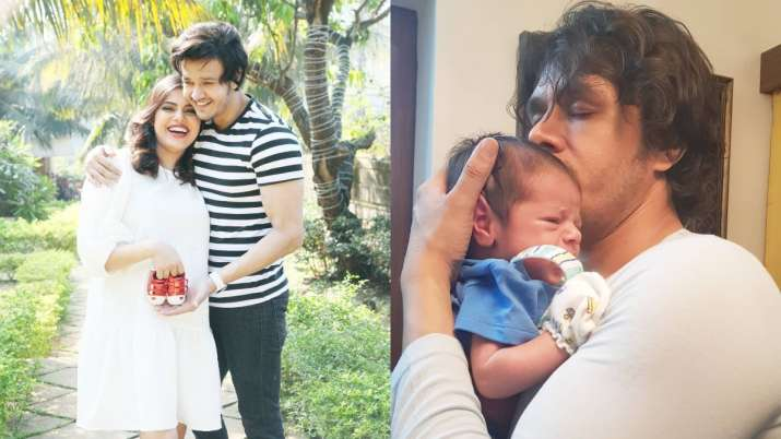 Covid-positive Aniruddh Dave's wife Shubhi Ahuja reveals biggest challenge to leave 2-month son for
