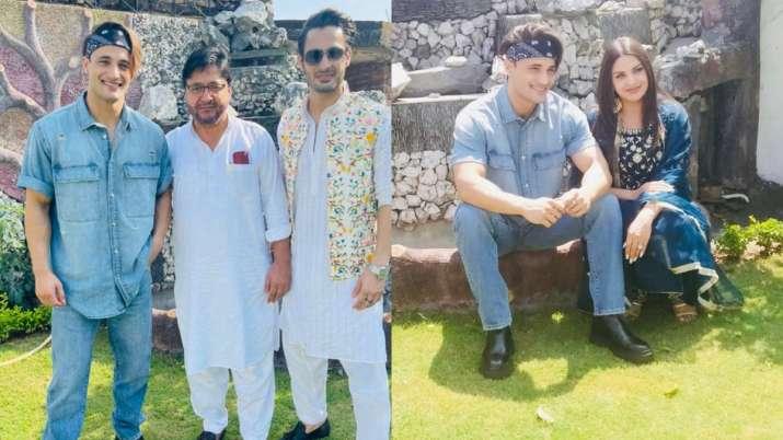 India Tv - Asim Riaz And Himanshi Khurana celebrate Eid together