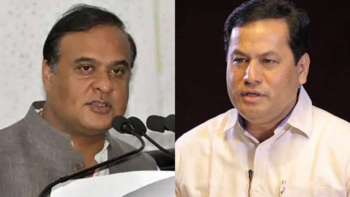 Assam Chief Minister Sarbananda Sonowal and Health Minister