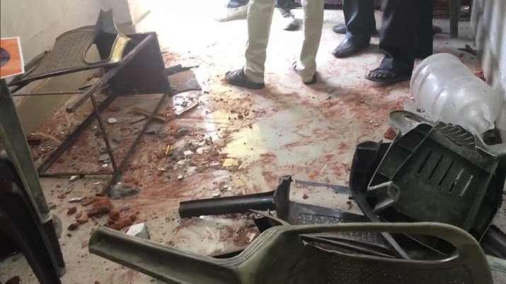 Bhartiya Janata Party (BJP) office in Asansol was allegedly