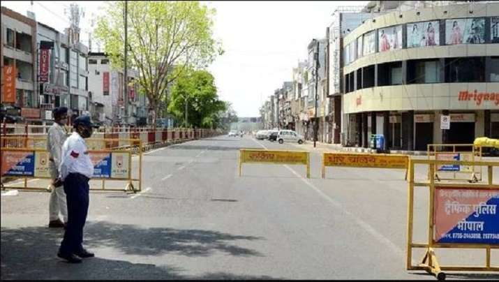 Madhya Pradesh govt extends corona curfew in Bhopal till