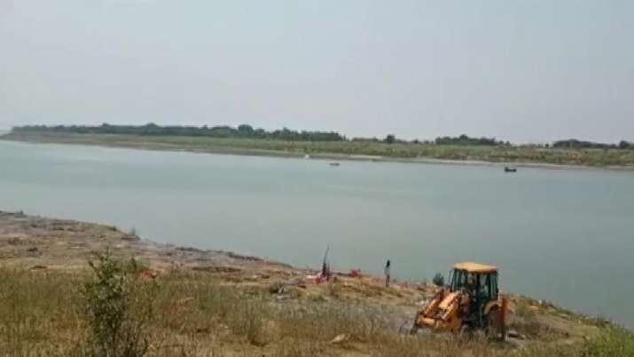 Several bodies were found floating in Ganga river in