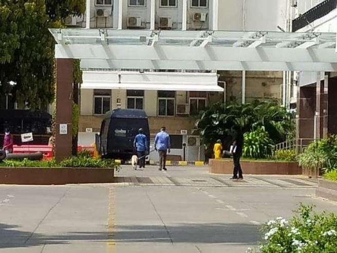 Bomb disposal squad rushes to Maharashtra Legislature