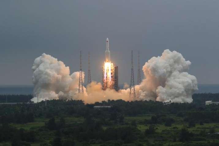 Debris of China's disintegrating rocket falls into Indian