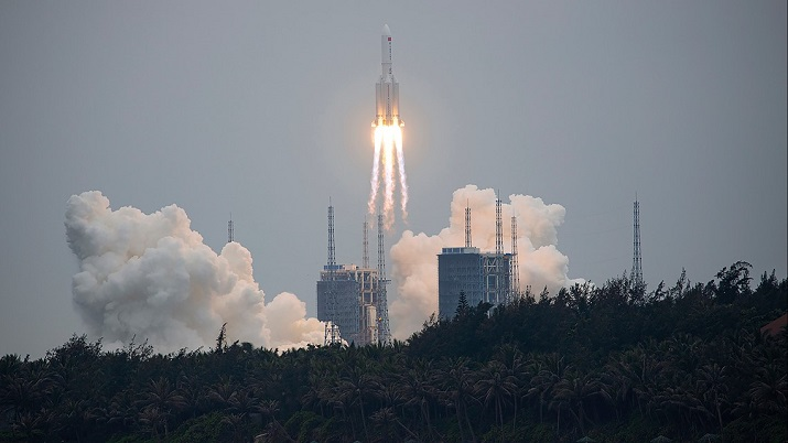 US tracking out-of-control wreckage of Chinese rocket