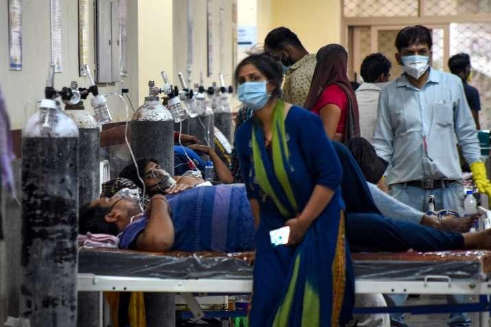 Delhi's positivity rate falls to 14%, Oxygen demand also