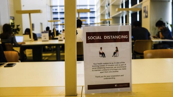Social distancing not enough to cut Covid risk indoors: Study
