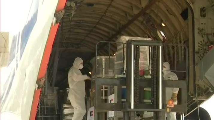 Oxygen cylinders from Czech Republic, Austria arrive in India