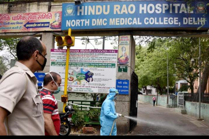 23 COVID patients admitted in Hindu Rao Hospital left