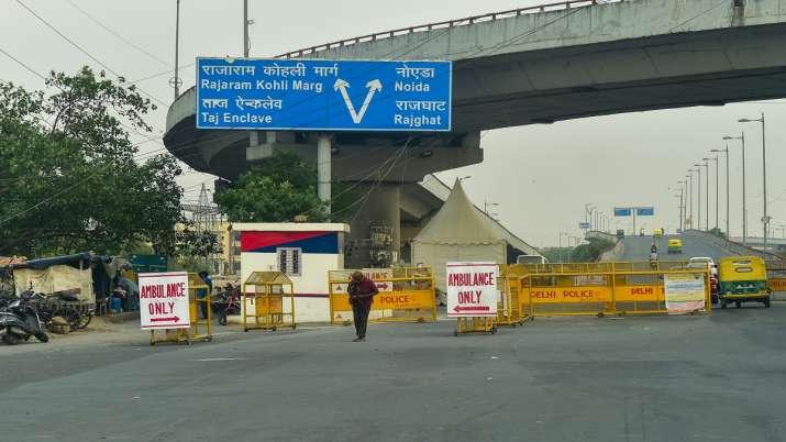 Delhi lockdown extended by a week.