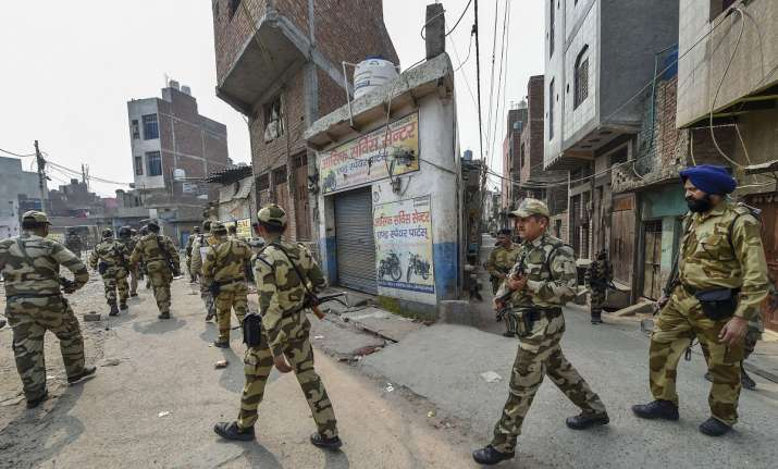 Communal violence had broken out in northeast Delhi in