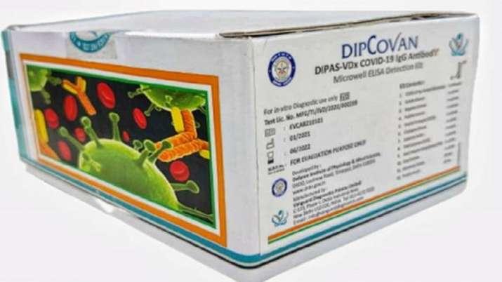 drdo, covid sero survey DIPCOVAN, Covid-19 antibody detection kit, covid cases
