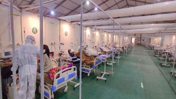 Covid-19 patients undergo treatment at DRDOs Sardar