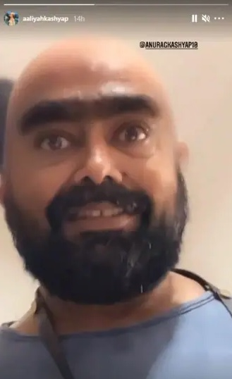 India Tv - Anurag Kashyap's daughter Aaliyah shares first pic of filmmaker post angioplasty; see here