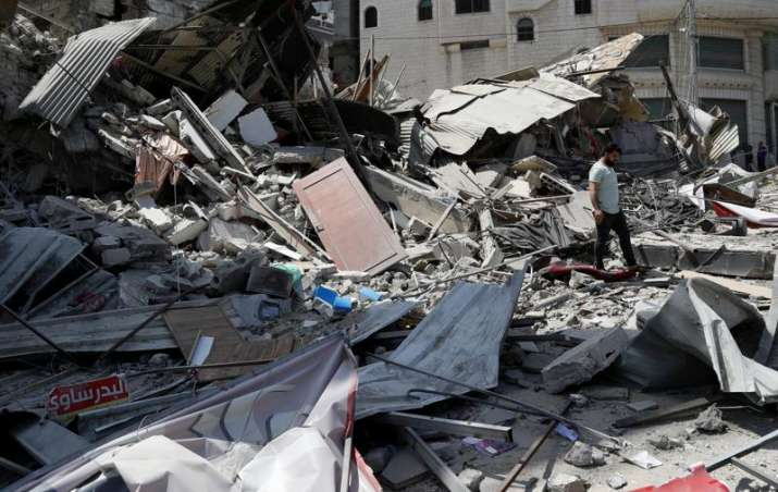 Israel unleashes strikes as expectations for truce rise