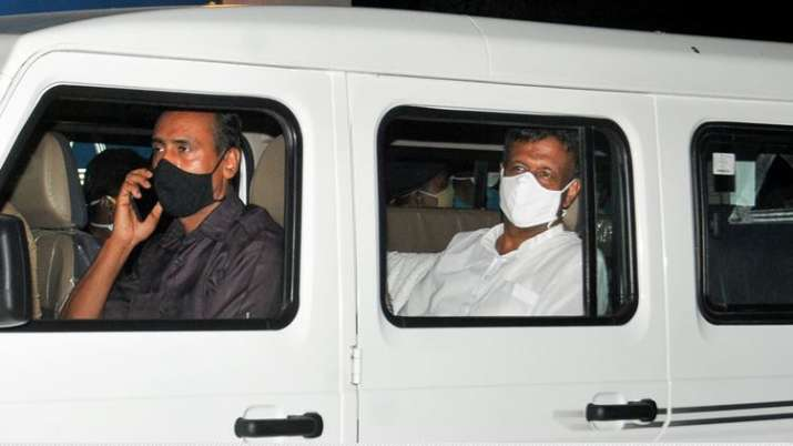 In picture, minister Firhad Hakim, one of the accused in