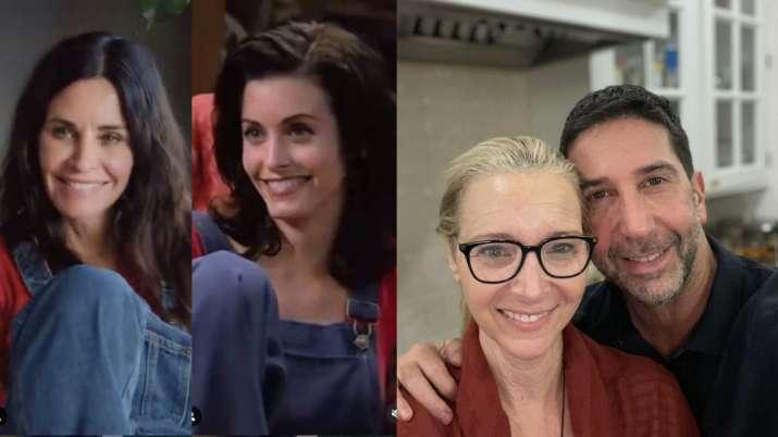 Courtney Cox, Lisa Kudrow, David Schwimmer