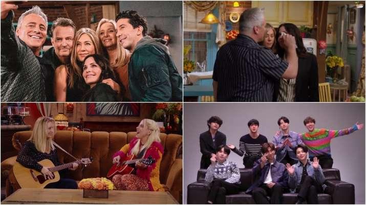 Stills from Friends Reunion